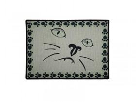 Place Mat Cat Face