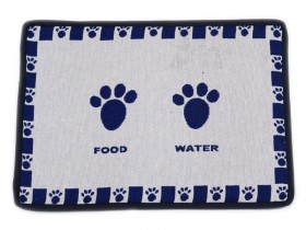Food and Water pet place mat