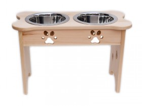 Wooden Diner With Natural Finish